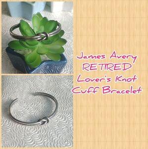 James Avery RETIRED Lover's Knot Bracelet